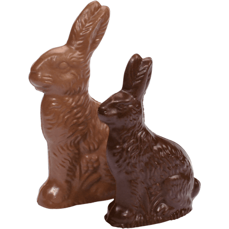 Vermont Nut Free Chocolates Solid Milk Chocolate 3-D Easter Bunny (5.4 oz) - Walmart.com
