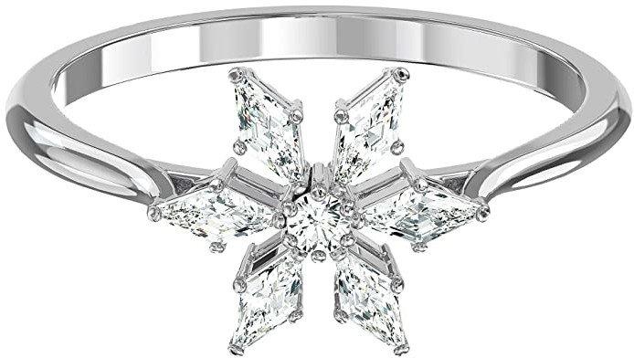 silver snowflake ring - Google Search