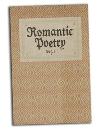 romantic poetry vol 1 book
