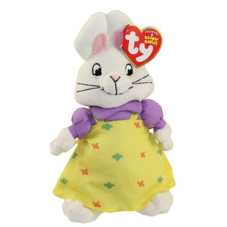 TY Beanie Baby - RUBY the Rabbit (Nick Jr. - Max & Ruby): BBToyStore.com - Toys, Plush, Trading Cards, Action Figures & Games online retail store shop sale