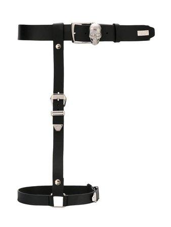 plain harness belt