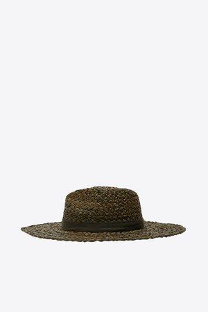 RAFFIA HAT | ZARA United States