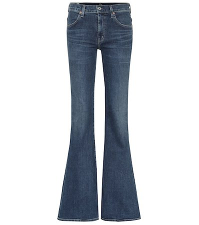 Chloé high-rise flared jeans