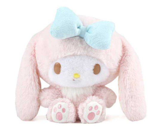 My Melody Lop Ear Plush: Bunny | Sanrio