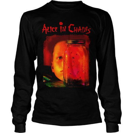 Alice in Chains: Jar Of Flies (Long Sleeve Shirt)