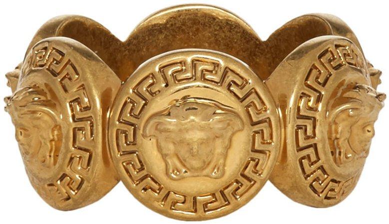 Gold Logo Ring
