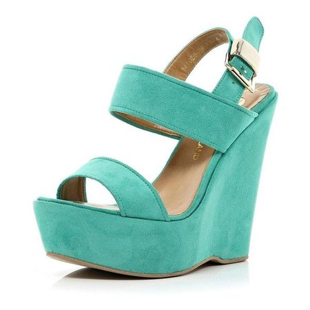 Turquoise Wedges