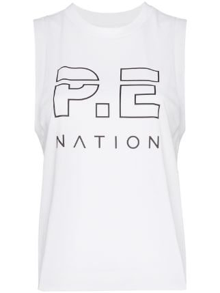 top P.e Nation Logo Print Tank Top Ss20 | Farfetch.com