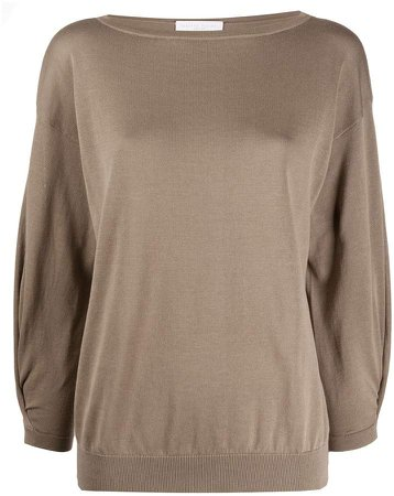 Relaxed Long-Sleeve Top