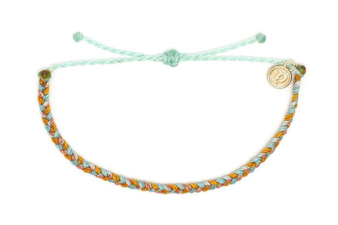 orange and blue bracelets pura vida - Google Search