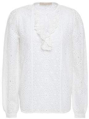 Lili Rose Broderie Anglaise Cotton Blouse