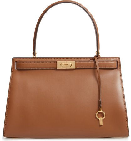 Tory Burch Lee Radziwill Small Leather Satchel | Nordstrom