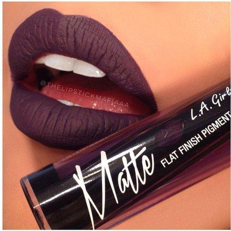 Deep Purple Matte Lipstick