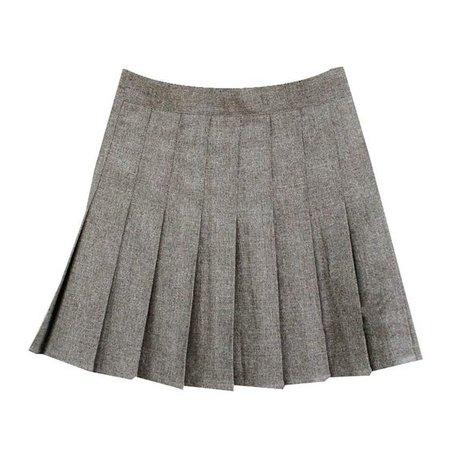 Women School Uniforms plaid Pleated Mini Skirt at Amazon Women's Clothing