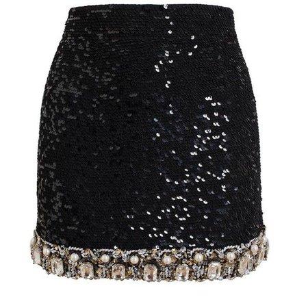 ASHISH Jewelled Mini Skirt