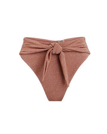 Montce Swim Paula Sparkle Bikini Bottoms   INTERMIX®