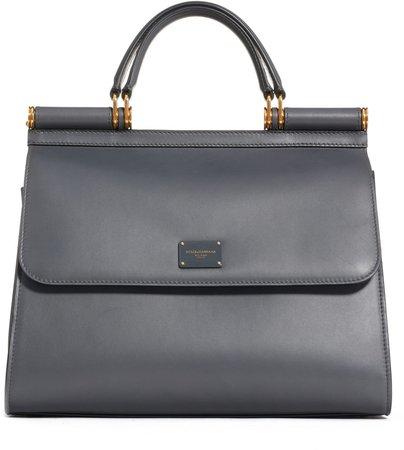 Sicily 58 Leather Satchel with Shoulder Strap