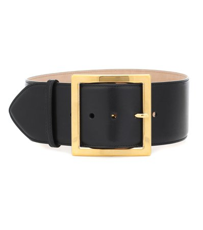 Alexander McQueen - Leather belt | Mytheresa