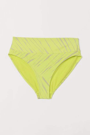 Bikini Bottoms High Waist - Yellow