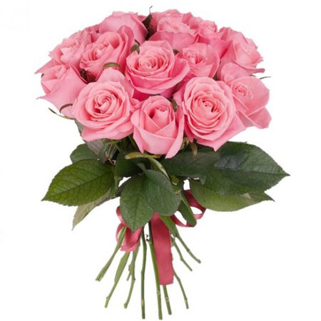Bouquet of pink roses - Italian Flora