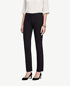 The Side-Zip Ankle Pant in Bi-Stretch | Ann Taylor