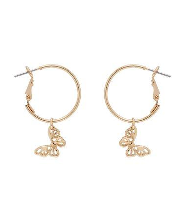 Earrings - Butterfly Sleeper Earrings - Accessories - Sportsgirl