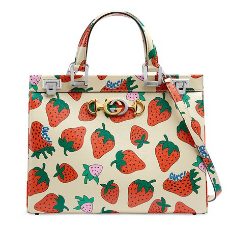 Gucci's spring/summer 2019 Zumi bag: A fruit(-printed) leather bag that's more chic than edible | Buro 24/7 Singapore