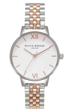 Olivia Burton Midi Round Bracelet Watch, 30mm | Nordstrom