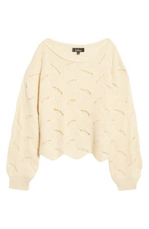 Lulus Moonglow Loose Knit Sweater | Nordstrom