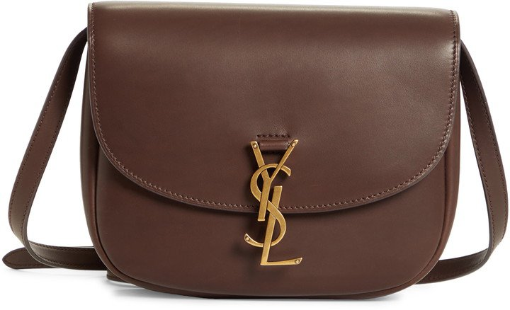 Large Kaia Monogram Leather Crossbody Bag