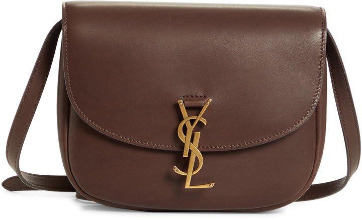 Large Kaia Monogram Leather Crossbody Bag