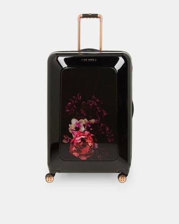 Splendour large suitcase - Black | Bags | Ted Baker UK