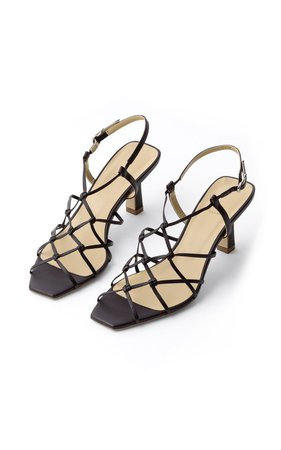 Celia Leather Sandals by Aeyde | Moda Operandi