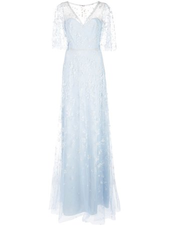 Marchesa, Notte Glitter Tulle Gown
