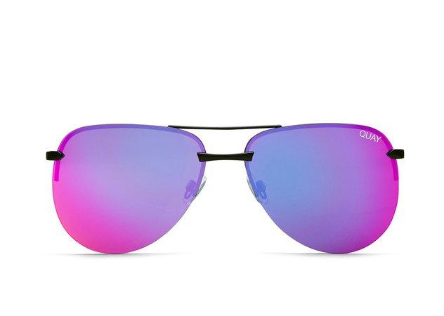 THE PLAYA Mirrored Aviator Sunglasses | Quay Australia