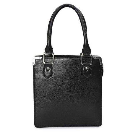 Holdalls & Weekend Bags   Shop Women's Black Leather Mini Handbag at Fashiontage   PRU1334