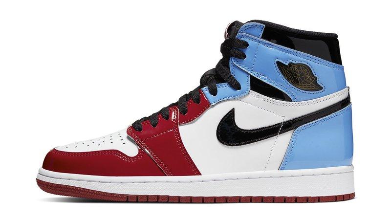 Jordan 1 red and blue