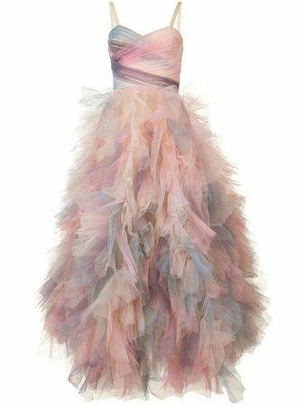 marchesa pastel tulle dress wrap