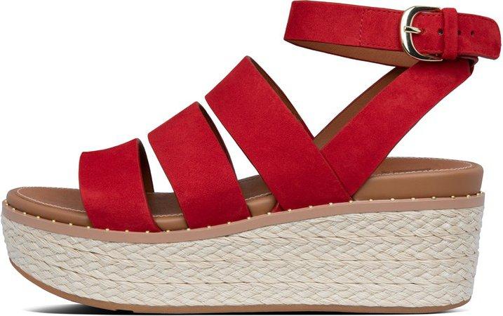 Eloise Espadrille Wedge Sandals