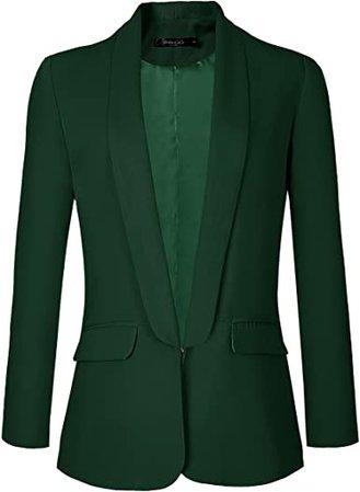 Urban CoCo Women's Office Blazer Jacket Open Front at Amazon Women's Clothing store