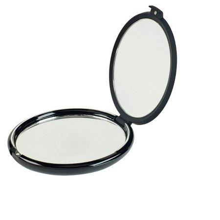 Conair Soft touch Black Compact 1x/10x Mirror