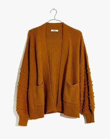 Bobble Cardigan Sweater