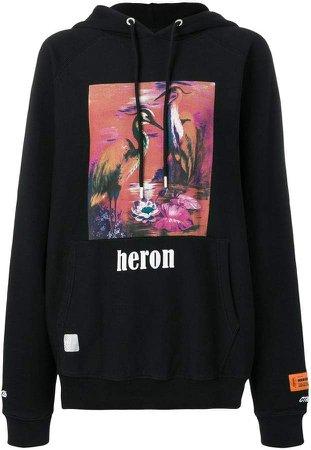 graphic print hoodie