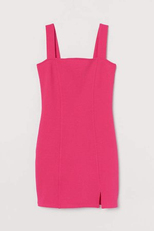 Fitted Dress - Pink