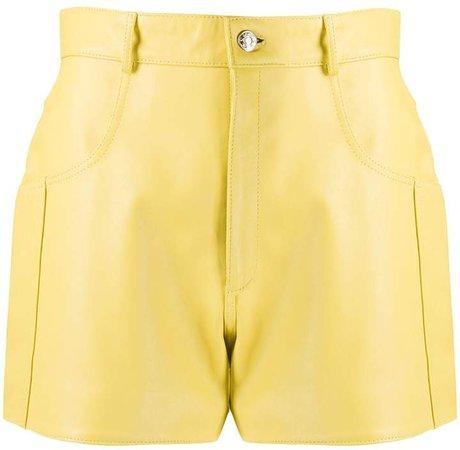 Manokhi Taylor leather shorts