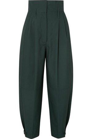 Givenchy | Pantalon fuselé plissé en coton | NET-A-PORTER.COM