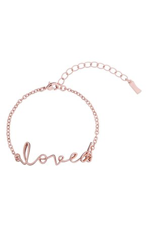 Ted Baker London Lakia Loved Script Bracelet | Nordstrom