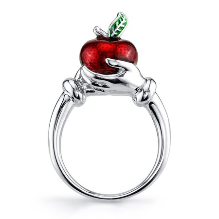Disney X RockLove Snow White and the Seven Dwarfs Fairest Apple Ring – RockLove Jewelry
