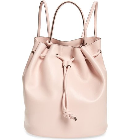 Treasure & Bond Delaney Drawstring Leather Backpack | Nordstrom