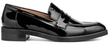 Leather Loafers - Black